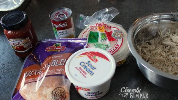 The Best Recipe for Chicken Enchilada Casserole | Freezer Cooking - Cleverly Simple®