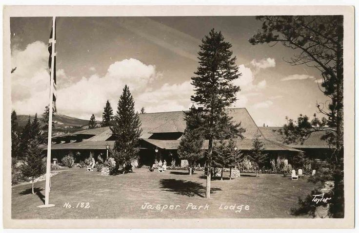Jasper Park Lodge, Alberta, Canada RPPC | Collectibles, Postcards, International Cities & Towns | eBay!