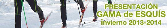Presentación Gama de esquís invierno 2013-2014. Deportes Goyo ha publicado ya en su web las novedades en esquí de fondo para el próximo invierno (clásico y patinador). ¡interesantes ofertas también en OUTLET ESQUIS!