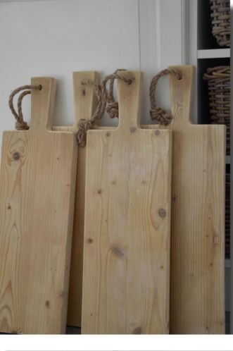 Steigerhouten broodplank
