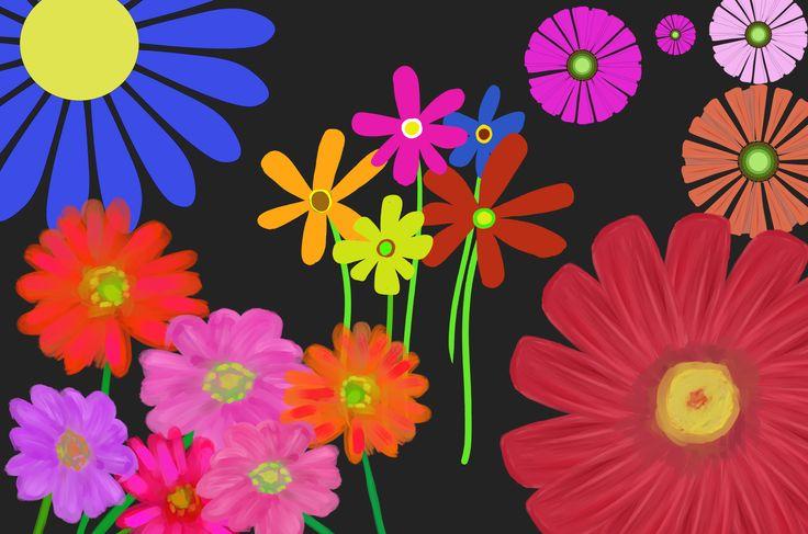 ガーベライラスト - 無料で使える可愛いお花の素材集ガーベラはフレームにしても、背景画像、挿絵にしてもとってもキュートでガーリーティストがぎっちり詰まった花のフリー素材です!パターンにデザインにご利用下さい。