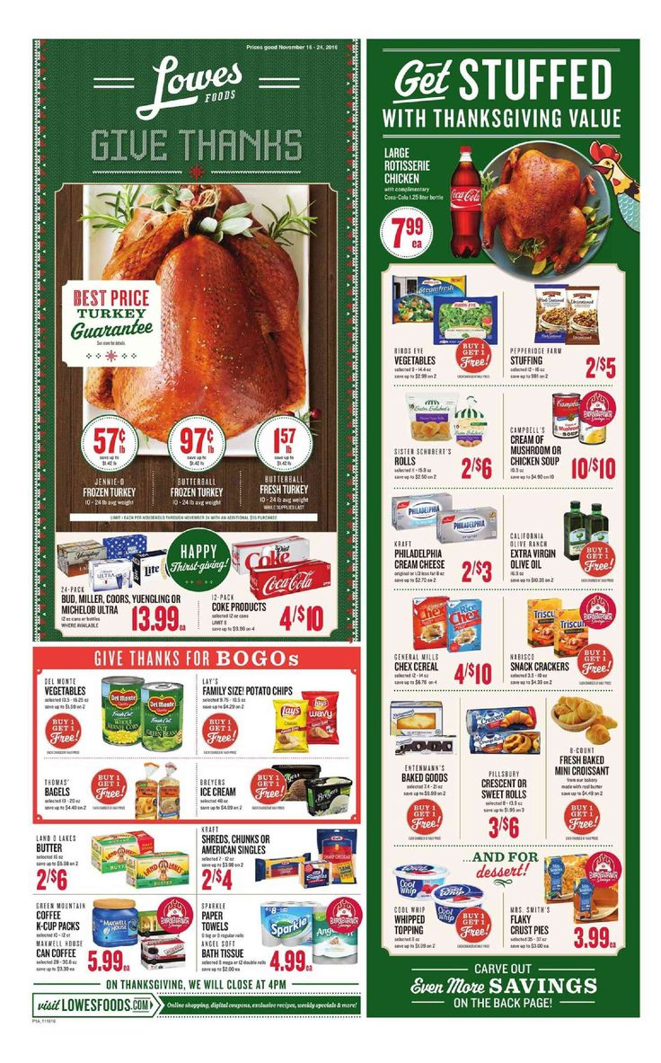 Lowes Weekly Ad November 16 - 24, 2016 - http://www.olcatalog.com/grocery/lowes-weekly-ad-circular.html