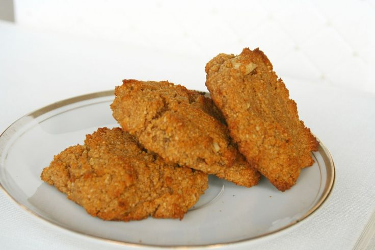 Sweet Potato Cookies (with Walnuts)