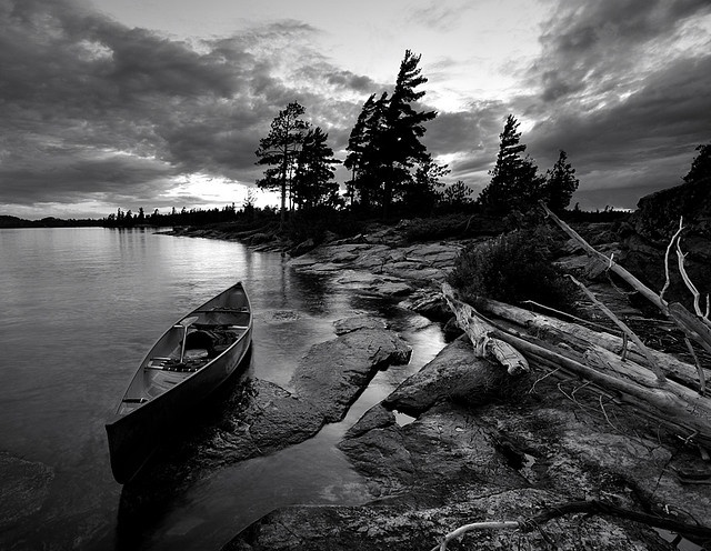 Temagami, Canada photo by Peter Bowers