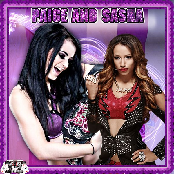 here is todays theme hope everyone enjoys the theme for today Black lightning paige and sasha banks