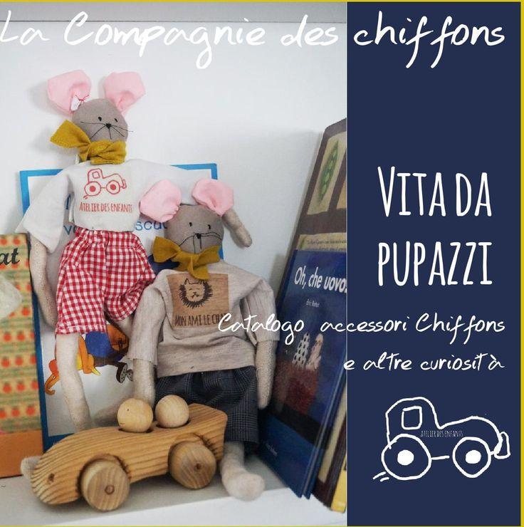 #ClippedOnIssuu from Atelier des enfants- Accessori  2016 - Vita da pupazzi - La Compagnie des chiffons