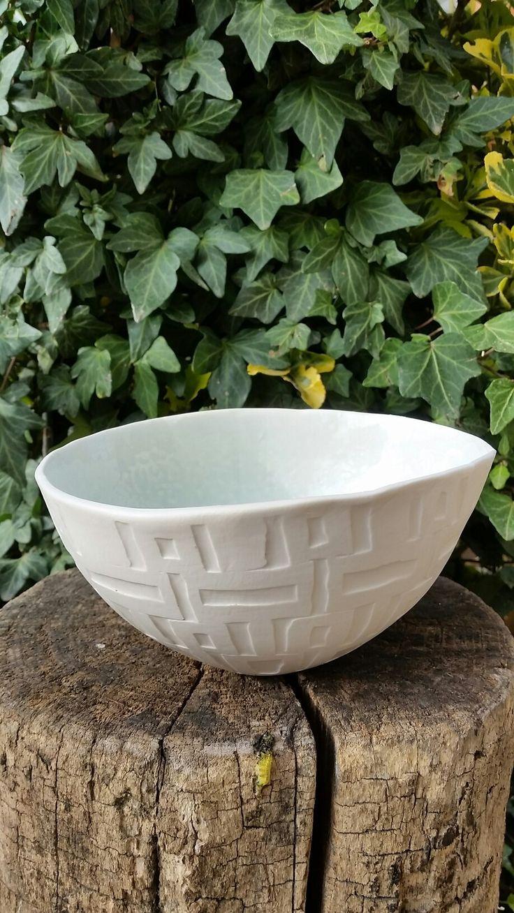 Porcellana cristallinata water etching