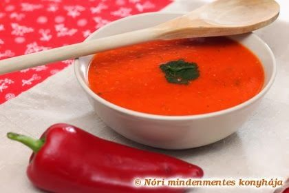Nóri mindenmentes konyhája: Sült paprika krémleves