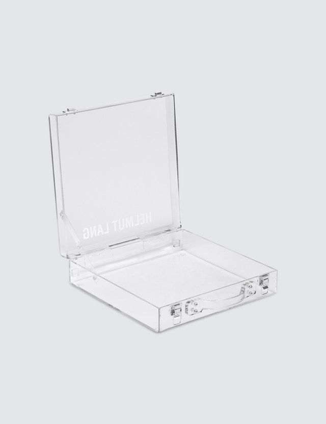 39288f86bbc1 Helmut Lang - Translucent lucite briefcase   product  product-design ...
