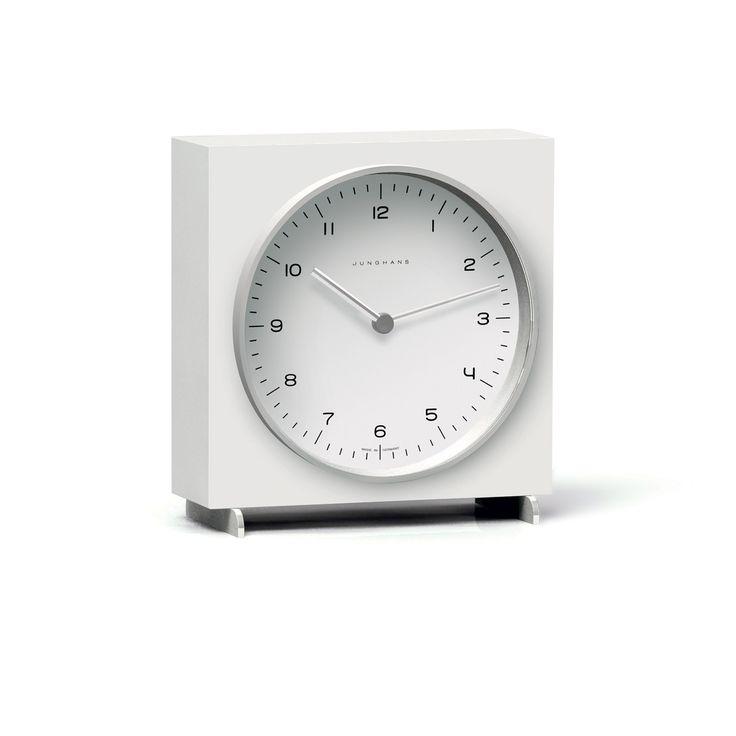 #MaxBill Table clock Quartz 363/2210.00 by #Junghans | #clock