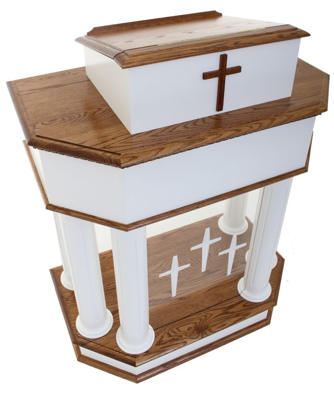 Church Pulpit 830W Model, (http