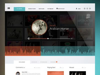 151 best images about Design Inspiration - Audio Players on Pinterest