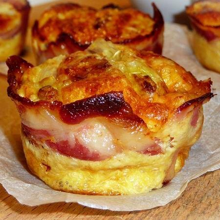 Spárgás-baconös frittata muffinformában Recept képpel -   Mindmegette.hu - Receptek