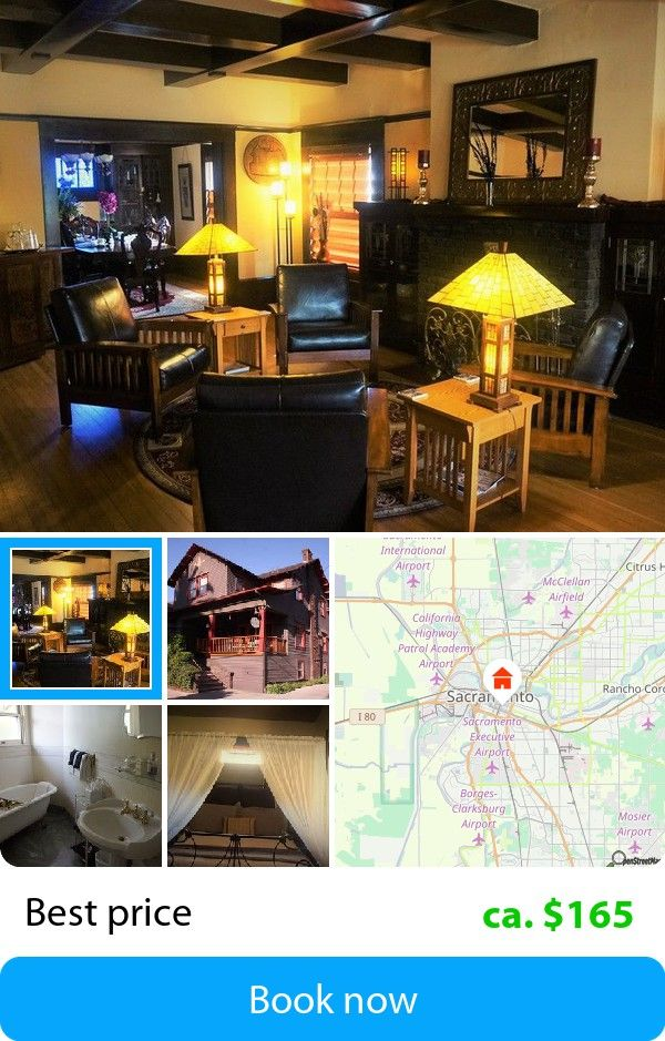 Amber House Bed and Breakfast (Sacramento, USA) – Book this hotel at the cheapest price on sefibo.
