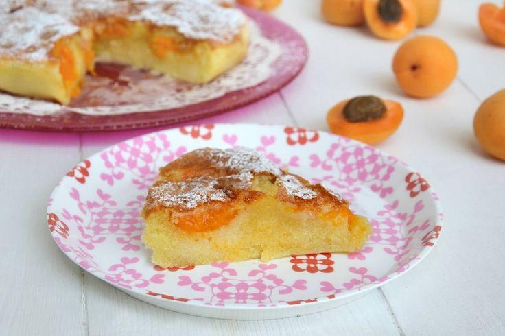 La torta di albicocche è una ricetta altoatesina che mi ha dato Caterina, una delle ragazze che lavora con me e che spesso mi aiuta in cucina.
