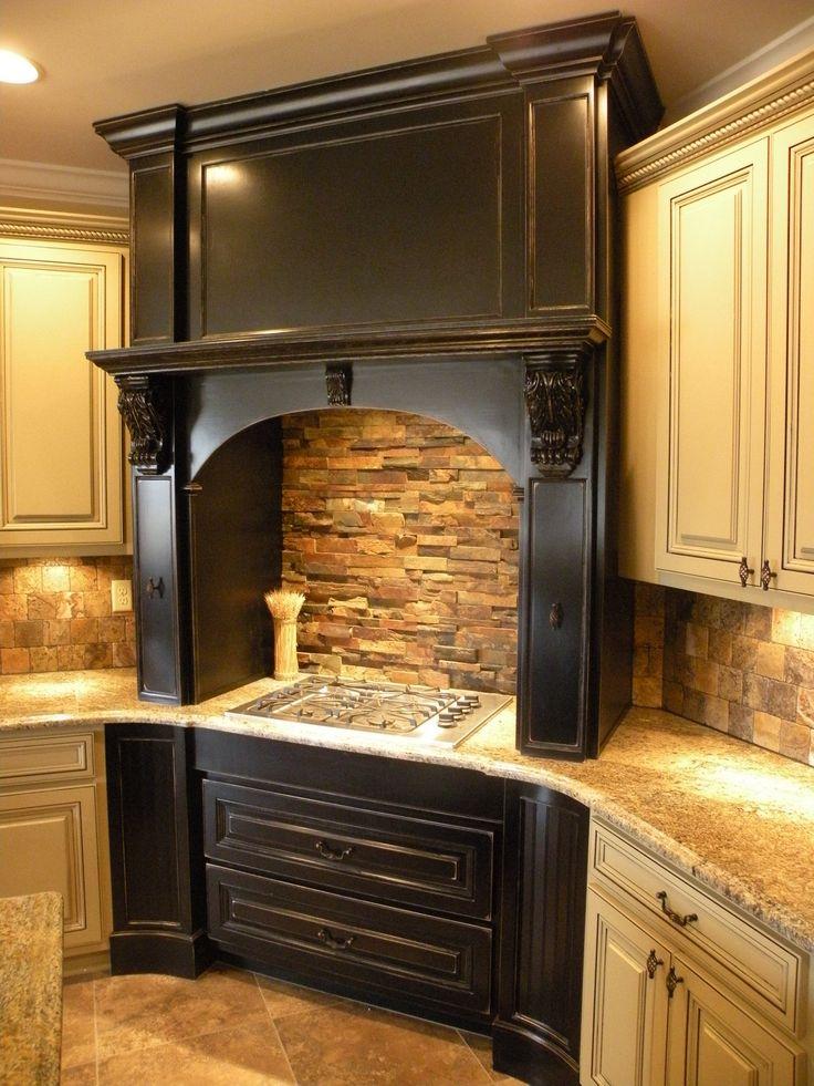 28 best wood range hood images on pinterest kitchen. Black Bedroom Furniture Sets. Home Design Ideas