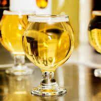 Flight paddles and glasses / Restaurant supply  Libbey 3816 5 oz. Stackable Belgian Beer Taster Glass - 24/Case