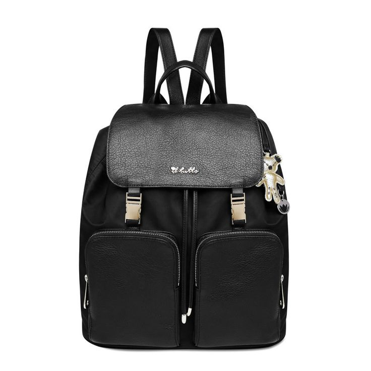Susanna BackPack Nappy Bag in Black