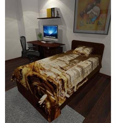 Заказать покрывало с фотопечатью «Шанхай»  с индивидульным размером, из ткани на выбор
