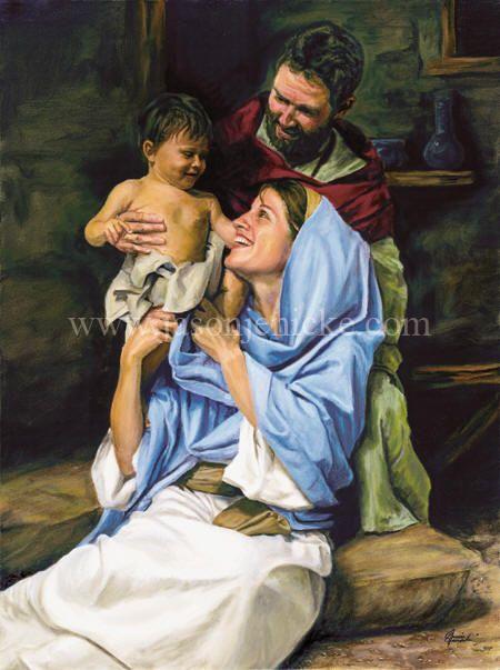 Holy Family, by Jason Jenicke