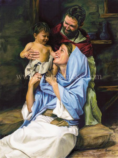 Holy Family, by Jason Jenicke