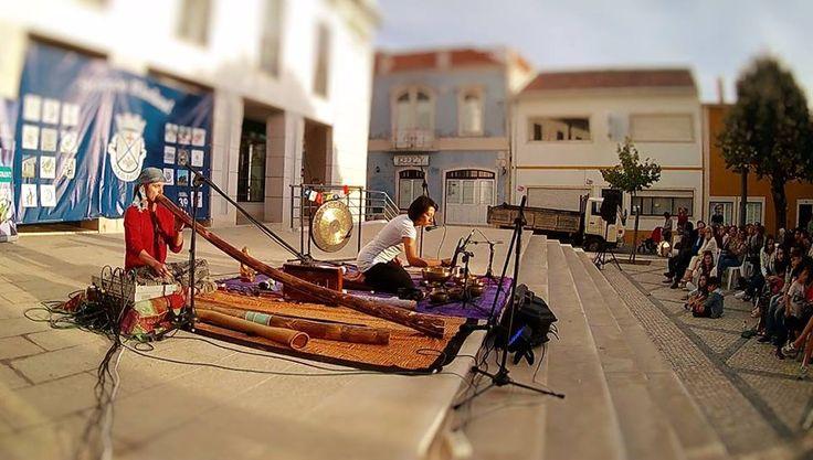 World Fusion Music Portugal Didgeridoo and Singing Bowls Didgeridoo e Taças Tibetanas Projeto Vertigem Sonora Miguel Maat & Ana Domingos  #miguelmaat #didgeridoo #didgeridooportugal