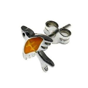 Boucles d'oreilles Oiseaux jaunes - Bijoux en Argent 925: ShalinCraft: Amazon.fr: Bijoux