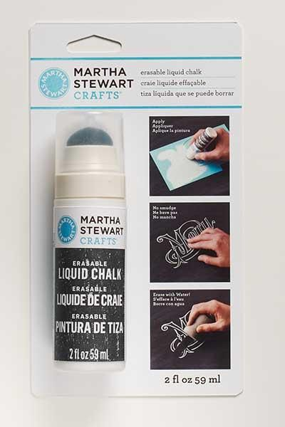 Martha Stewart Crafts ® 2oz Erasable Liquid Chalk,
