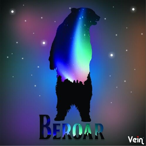 Beroar_1 #digitalart #coreldraw #bear #aurora