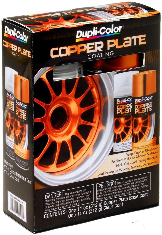DupliColor Paint CK100 DupliColor Copper Plate Coating