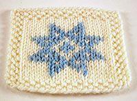 Knitting - Duplicate stitch