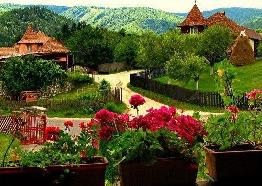 Romanian village! ♥♥♥