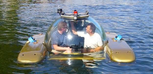 A Submarine  Triton 1000 Luxury Submersible  $1,690,000