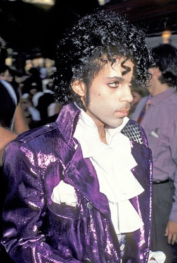 Prince Purple Rain era■ 'if looks could kill' Prince was the master■