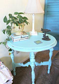 Side Table Makeover on Pinterest