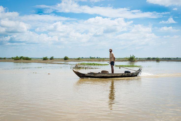 At Tonlé Sap - null