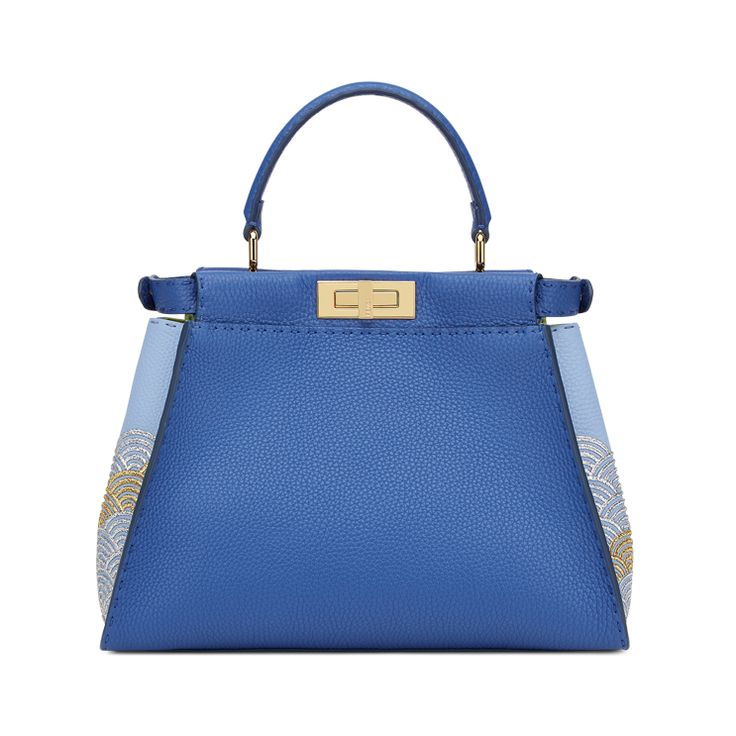 The special Fendi Peekaboo bag personalized by Ryohei Miyata for the Peekaboo Charity Auction in Japan