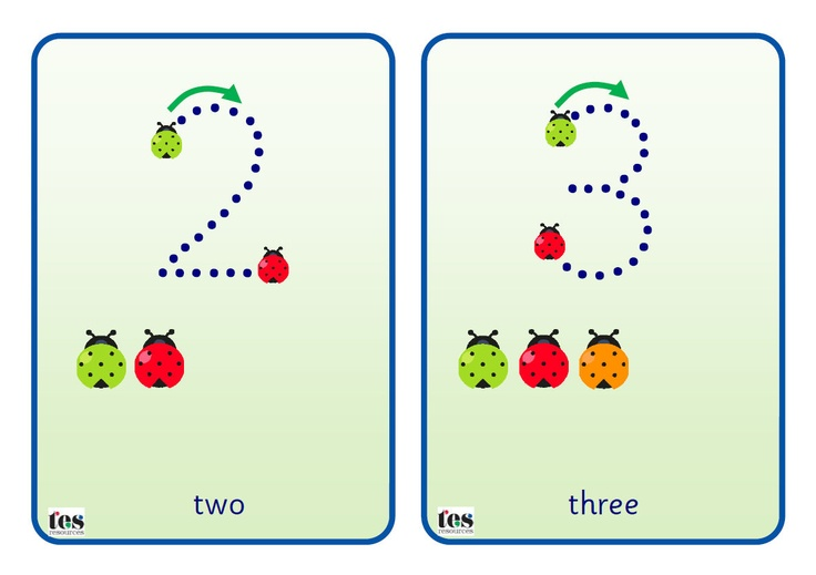 Simple flash cards that can be laminated and used with a dry wipe marker. Numbers from 0-10 are in Sassoon dotted font. A green item shows the starting point, a red item the finishing point. Also includes direction arrows and additional items to add a counting element. Themes covered are flowers, stars, balloons and ladybirds