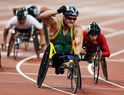 Colman collects some more booty | London 2012 - Official Australian Paralympic Team Website