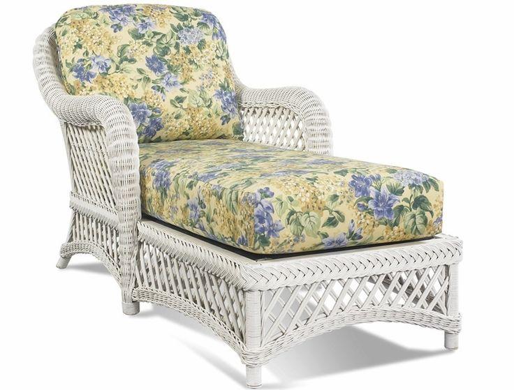 white resin chaise lounge chair