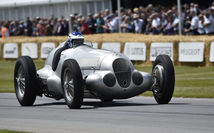 Built in 1937, this Mercedes-Benz W125 won seven Grand Prix in 1937. Its 5.7-litre supercharged engine makes it one of the most powerful GP racers ever