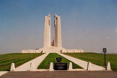 Vimy Ridge - Canadian soil within France.  I have, since I was a small child, wanted to go here.  This link takes you to some of the history of the place.   http://atethepaint-canadianbacon.blogspot.ca/2011/01/vimy-ridge.html