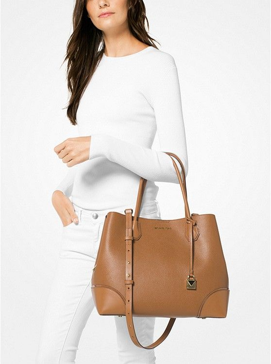 482b8eb5c32d Mercer Gallery Large Leather Tote  preview2
