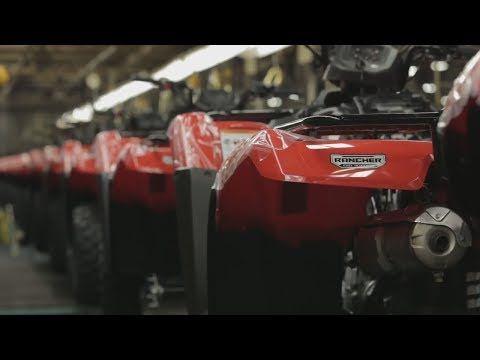 Новости: Как делают квадроциклы Honda