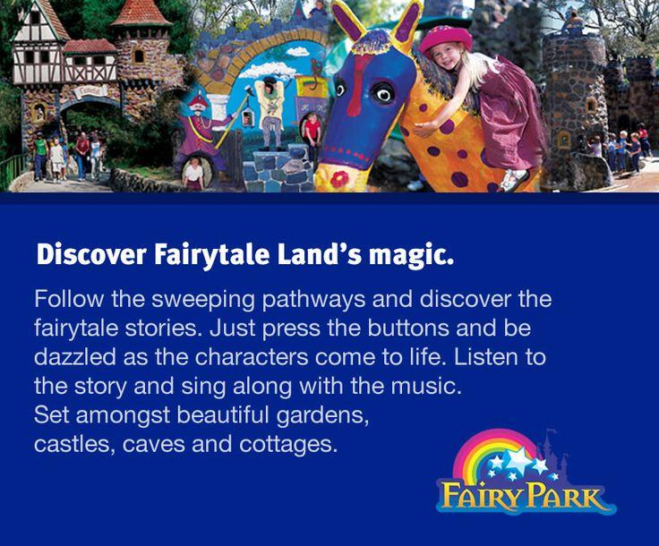 Fairy Park - Mobile Website