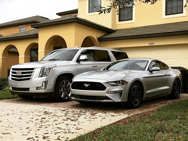 Not a bad line up! #cadillac #escalade #ford #5.0gt #v8's #vacationrentals #sixt #avis #detailedcars #sixtusa #vacationrentals #propertymanagement #luxuryrentals #luxuryhomerentals - posted by Ross Murdoch https://www.instagram.com/roskosstox - See more Luxury Vacation Rentals at https://RentRuby.com