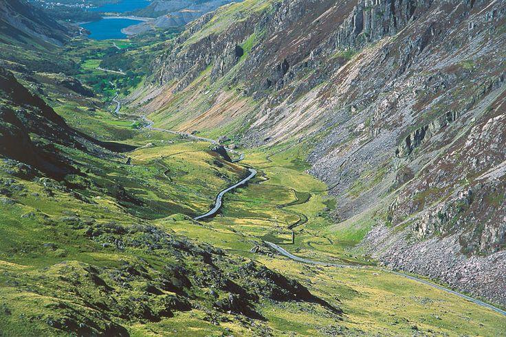 The Llanberis Pass, Wales. www.davenewbould.co.uk