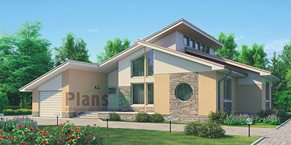 Фото проекта дома из кирпича 70-94