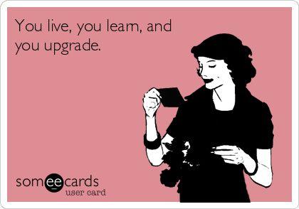Indeed. #upgrade