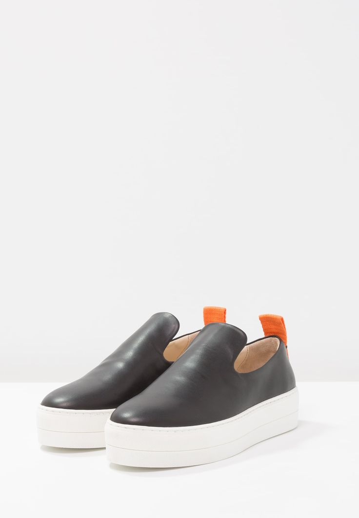 By Malene Birger WANDES - Loaferit/pistokkaat - black - Zalando.fi